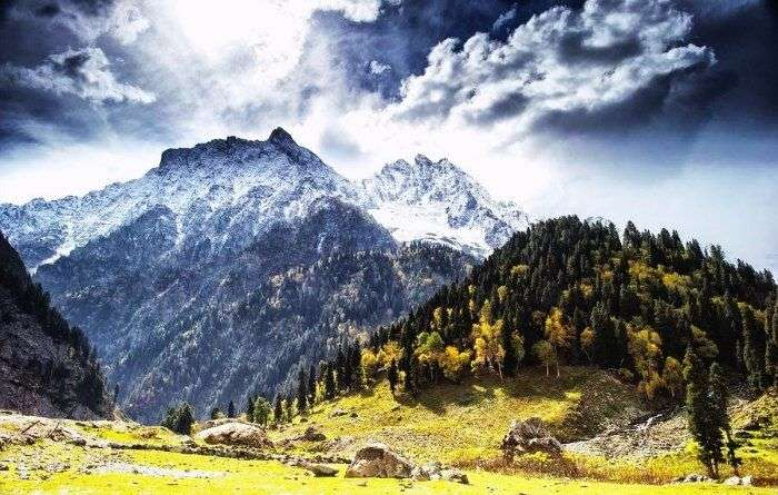 Pahalgam in Jammu & Kashmir