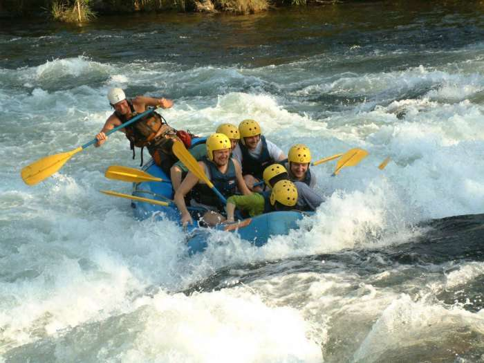 Rafting in Kundali river