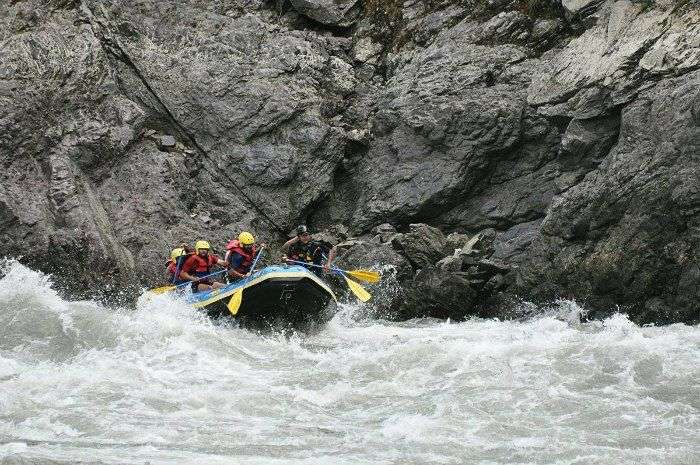 River Rafting in Lohit river North East