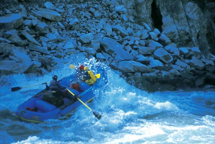 White water rafting in Yamuna