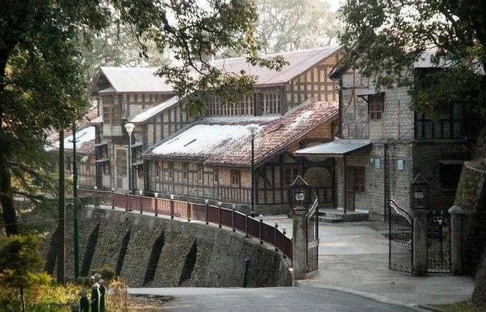 Shimla colonial quarters