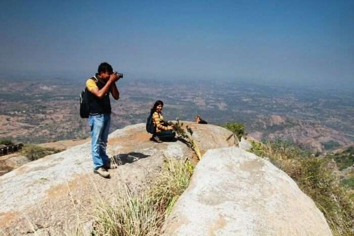 Shivagange is one of the best places to see in a day near Bangalore