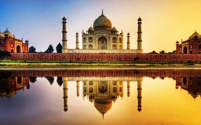 Symbol of Love - Taj Mahal in Agra