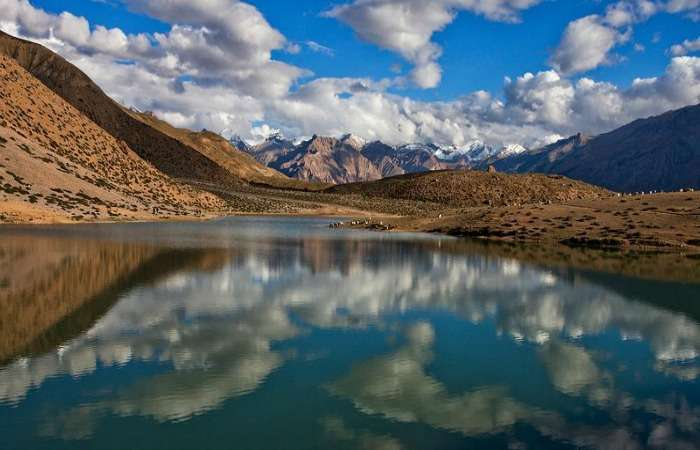 dhankar lake in Spiti