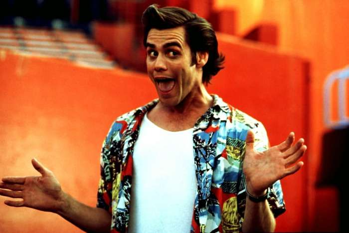 jim carrey in hawaiian shirt