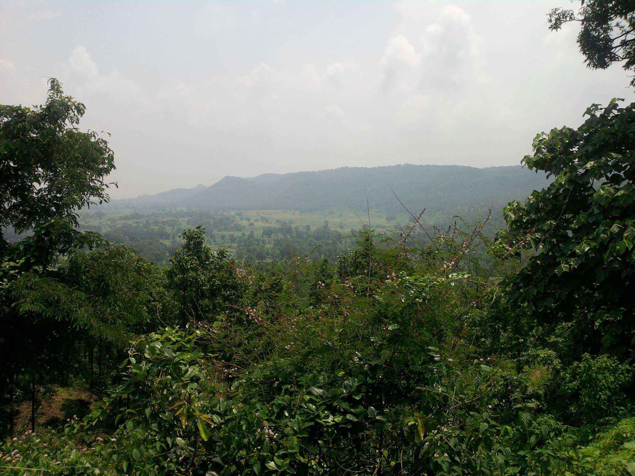 the lush green mountains of Ramgarh