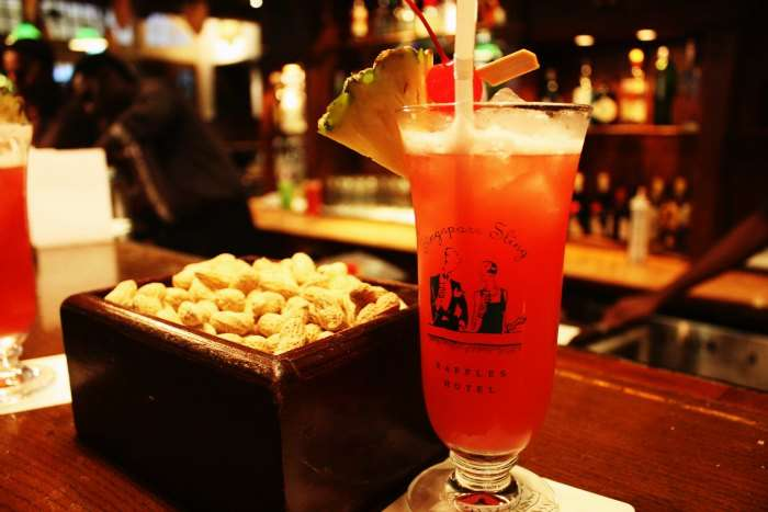 While in Singapore, do not miss the legendary Singapore Sling
