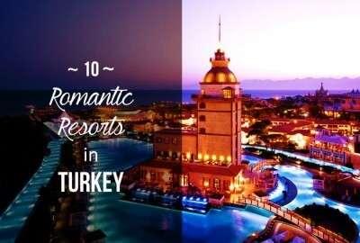 Romantic resorts in Turkey