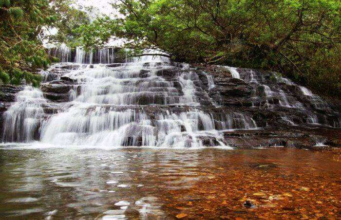 Bear Shola Falls in Kodaikanal are the nearest waterfalls around chennai