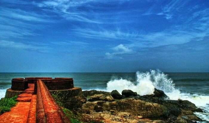 Bekal looks picturesque in rainy season and should be on your list of places to visit in Kerala in August