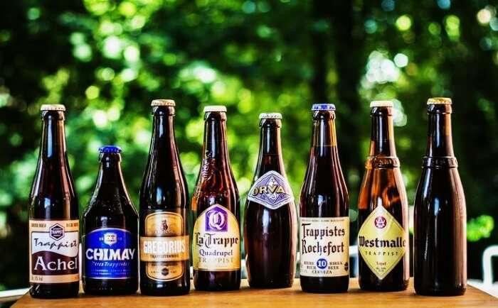 Get sloshed over the Belgium beer