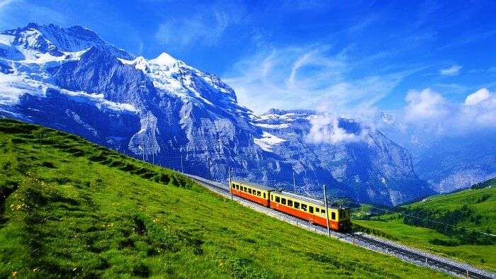 World's most romantic honeymoon destination - Switzerland
