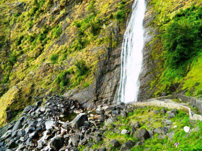 Located in Uttarakhand, Birthi falls are one of the best waterfalls near Delhi NCR region
