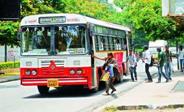 Buses in Hyderabad