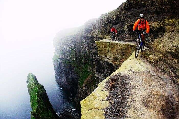 Cycle away to glory at Cliffs of Moher