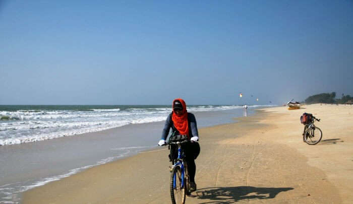 Cycling in Goa to Netravali Village