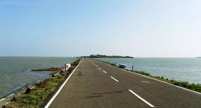 Cycling in Rameshwaram