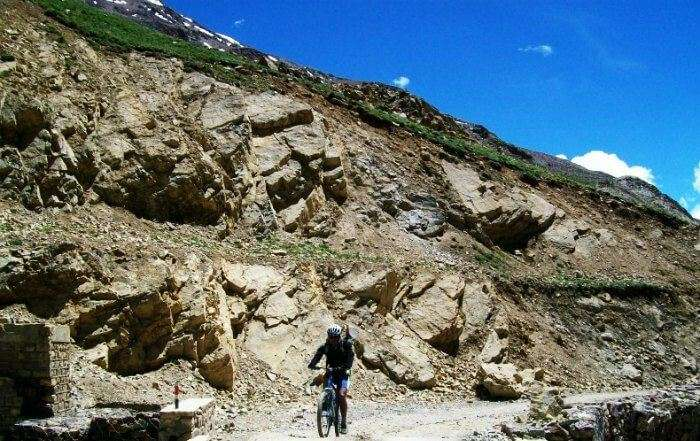 Cycle to the highest village in the world