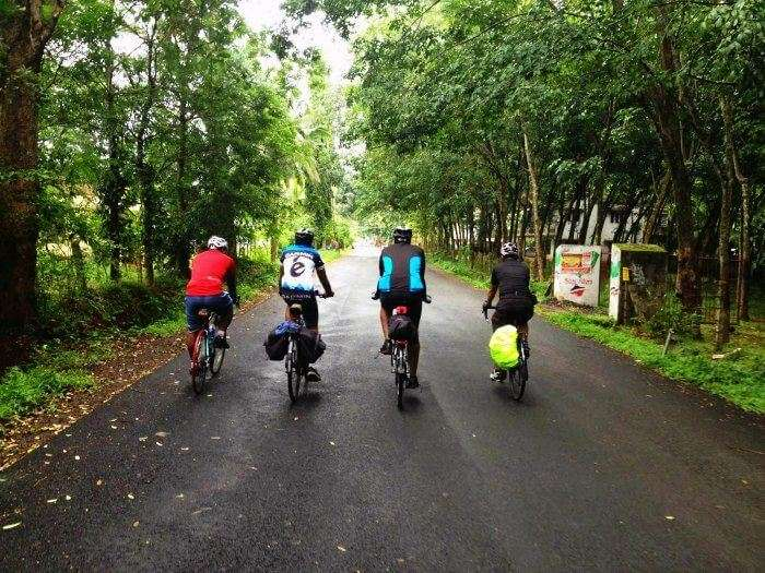 Cycle along the Mumbai-Mangalore-Trivandrum route