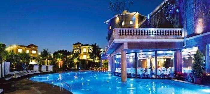 The beautiful Della Resorts and Villas in Lonavala