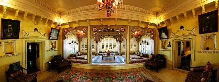 Deogarh Mahal in Rajasthan