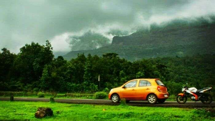 Enjoy the scenic drive to Bhimshankar, one of the best one day trip destinations from Pune and Mumbai