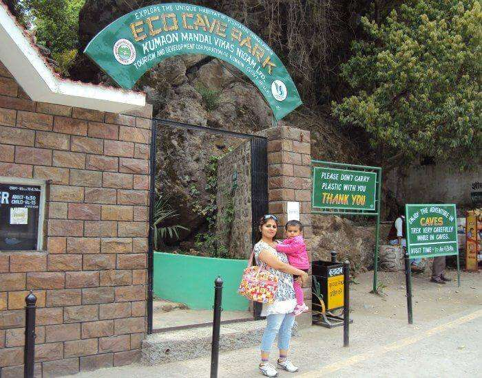 Eco cave gardens has to be on your list of places to visit in Nainital