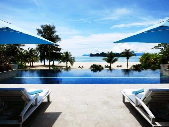 Four Seasons Resort in Langkawi is lauded as one of the most romantic resorts in Malaysia