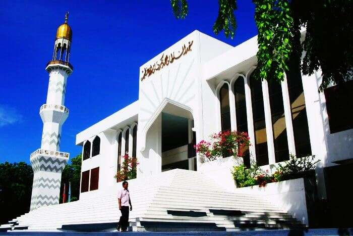 Friday mosque in Maldives
