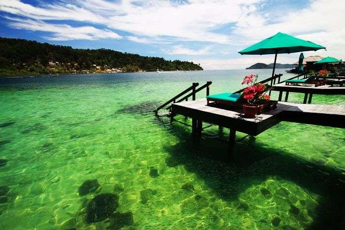 Gaya Island Resort is one of the best resorts in Malaysia for honeymoon