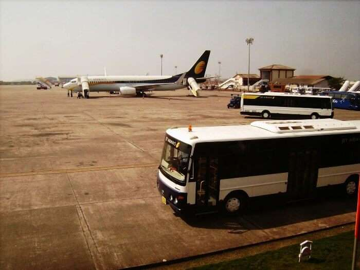 Dabolim International Airport in Goa
