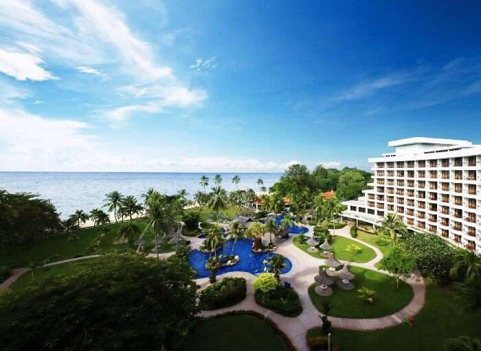 Golden Sands in Penang is amongst the few contemporary beach resorts in Malaysia