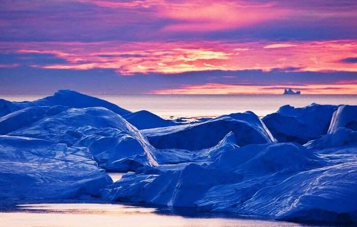 Head to Greenland or Alaska to see the never setting sun