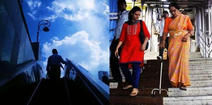Hi tech facilities of Delhi metro vs uncomfortable mumbai locals