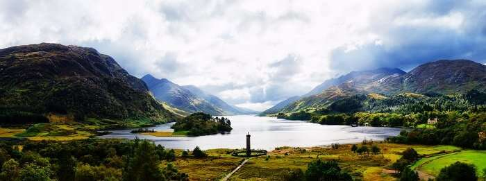 The magnificent Highlands of Scotland