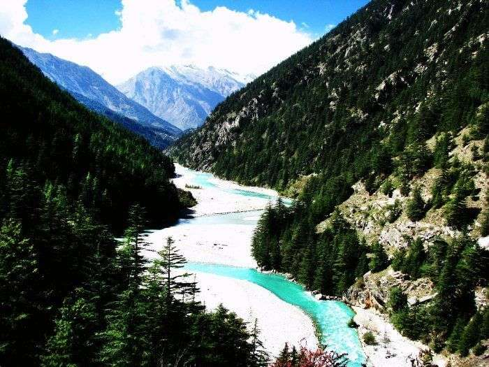 Holy River Bhagirathi in Harsil