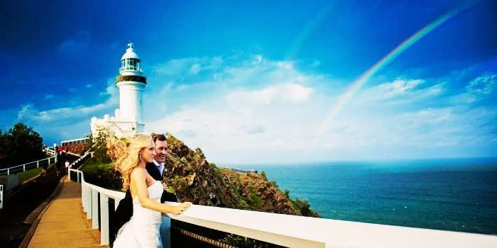 Honeymoon in Byron Bay in Australia