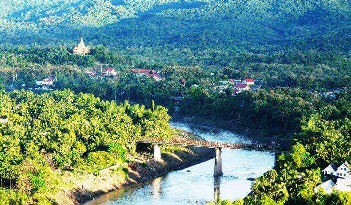 The panoramic views of Laos