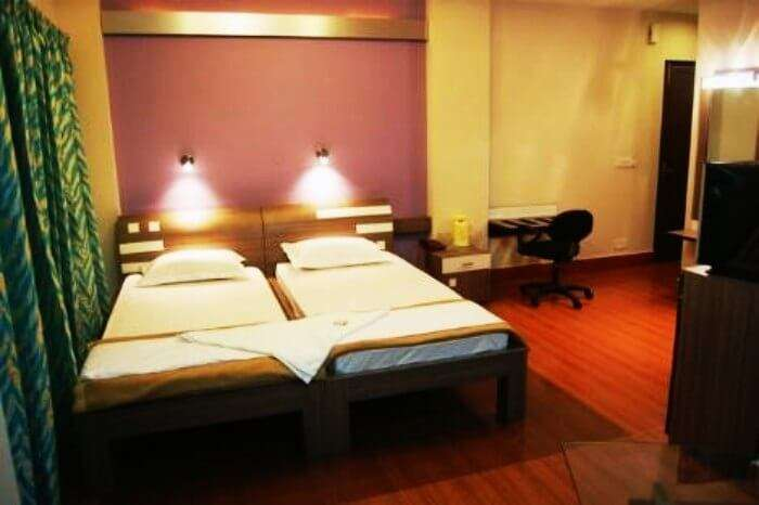 Comfortable rooms at Hotel Shreesh