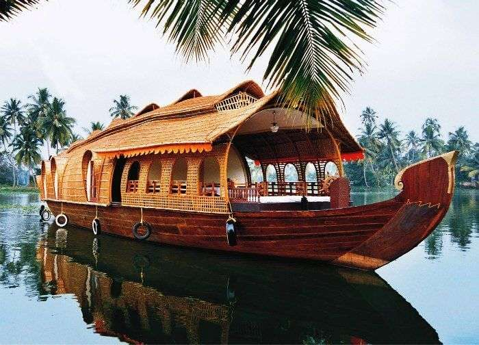 Kumarakom is amongst the most scenic places to visit in Kerala in rainy season