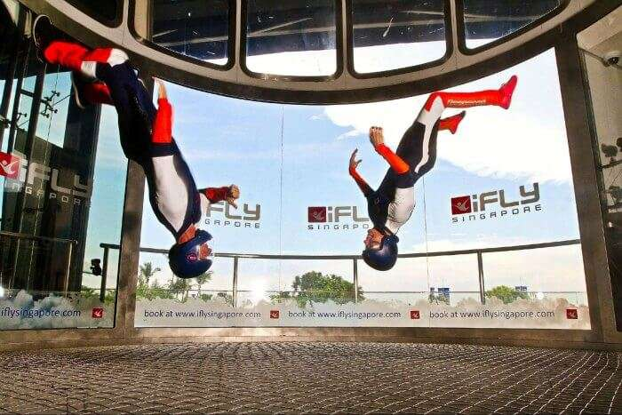Indoor Skydiving at iFlySingapore