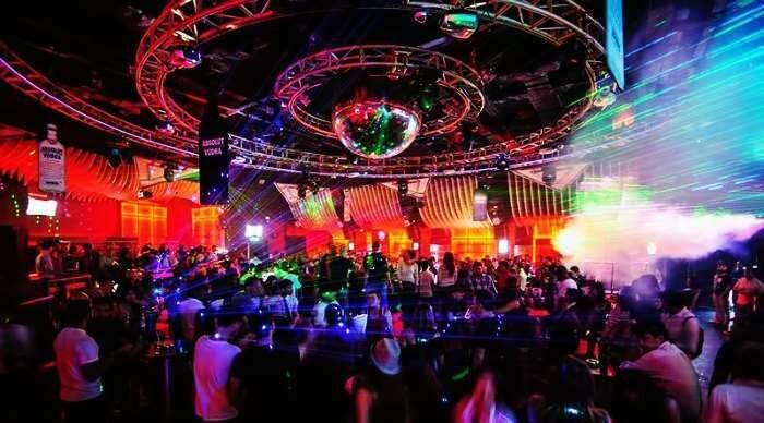Party in Insanity Nightclub in Bangkok