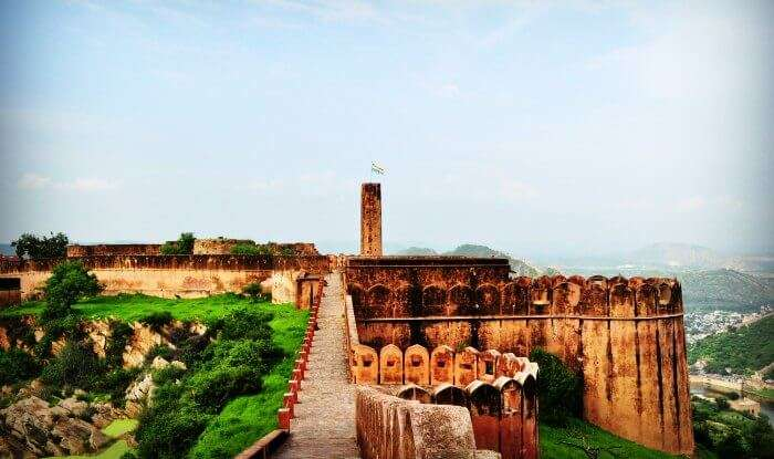 Jaigarh fort is one of the most famous historical monuments in Rajasthan