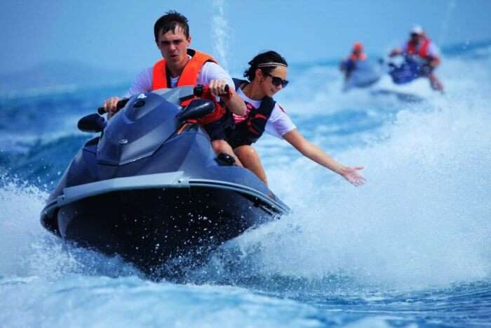 Jet Skiing is amongst the most thrilling water sports in Pattaya