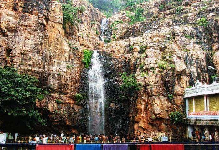 Kapila Theertham falls near Hyderabad
