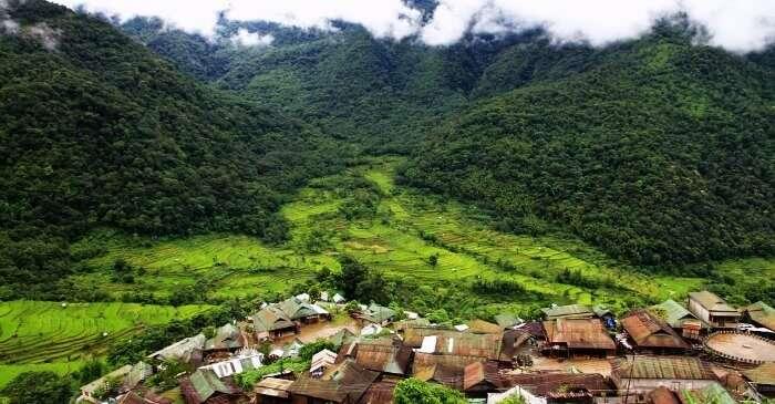 Khonoma the green village