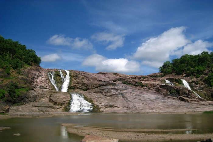 Kuntala waterfall near Hyderabad is the most popular aqua getaway from the city.