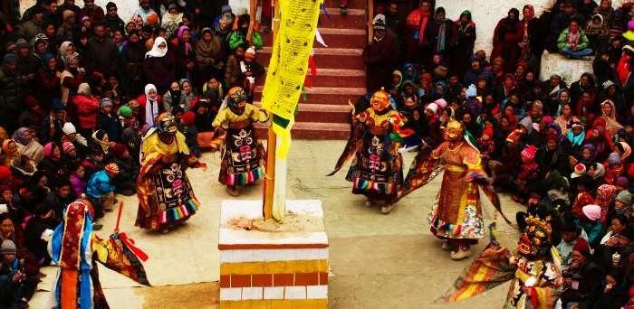 Post monsoon celebrations in September in Ladakh