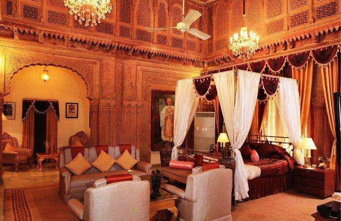 Laxmi Niwas Palace in Bikaner
