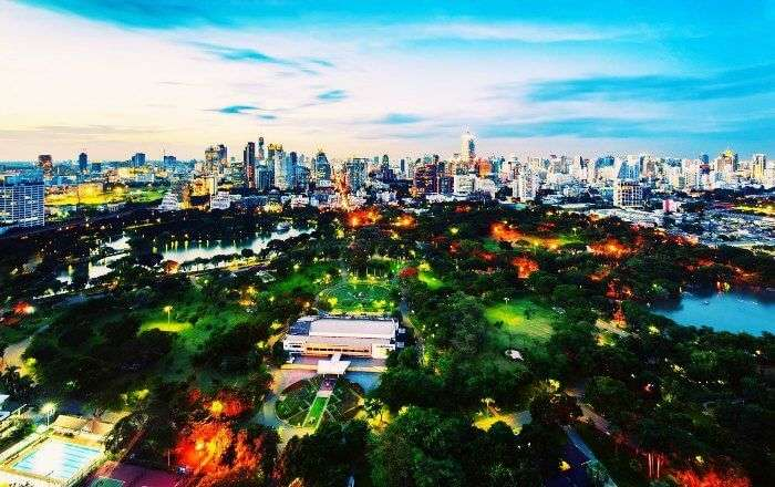 A visit to Lumpini Park is one of the best things to do in Bangkok for free